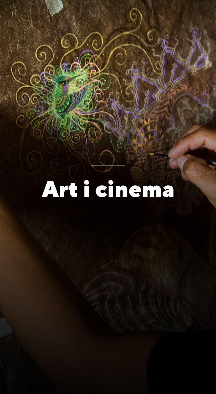Art i cinema - World Ayahuasca Conference 2019 - ICEERS