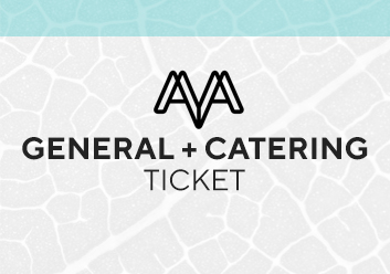 General + Catering ticket - World Ayahuasca Conference 2019